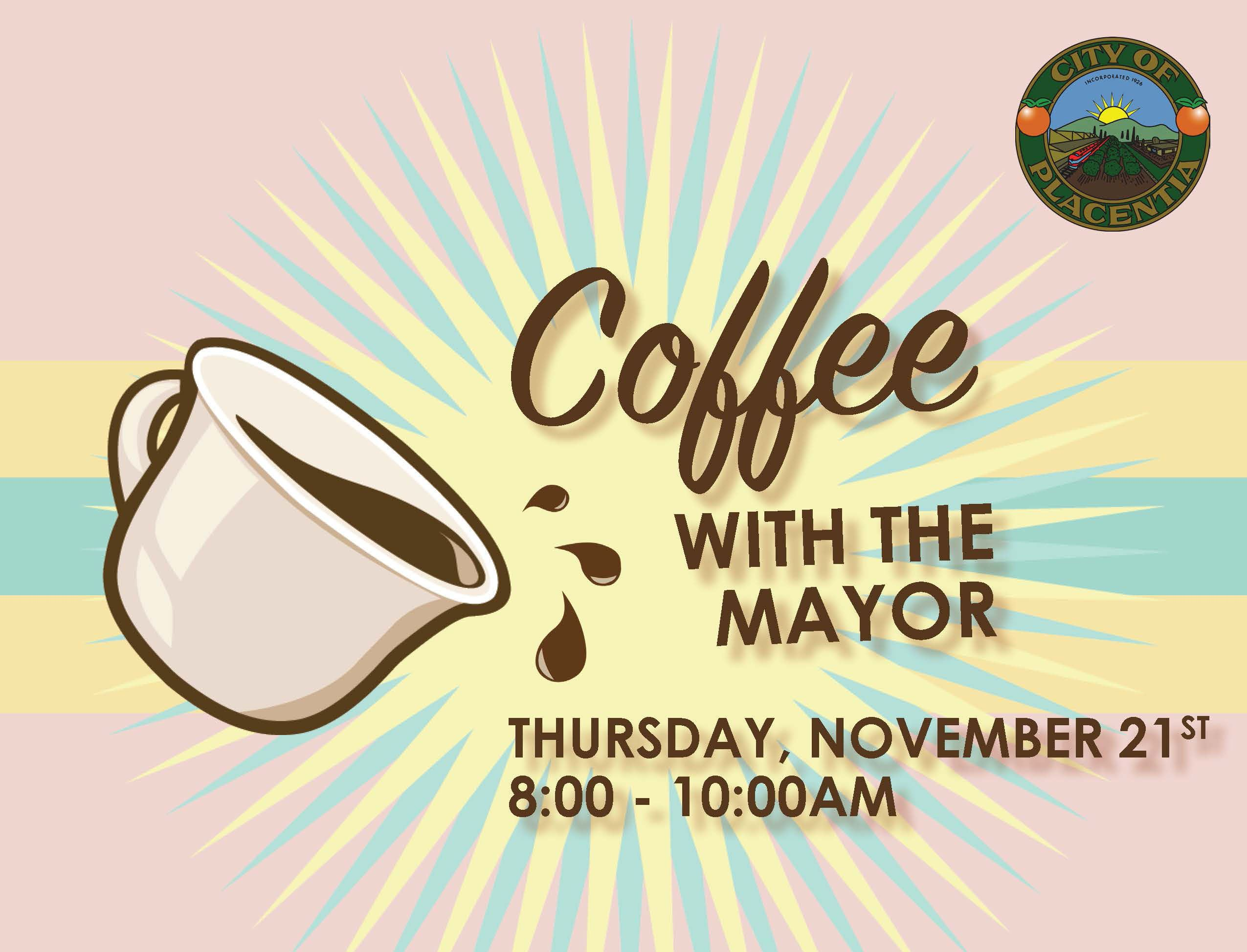 Coffee with the Mayor Nov 21