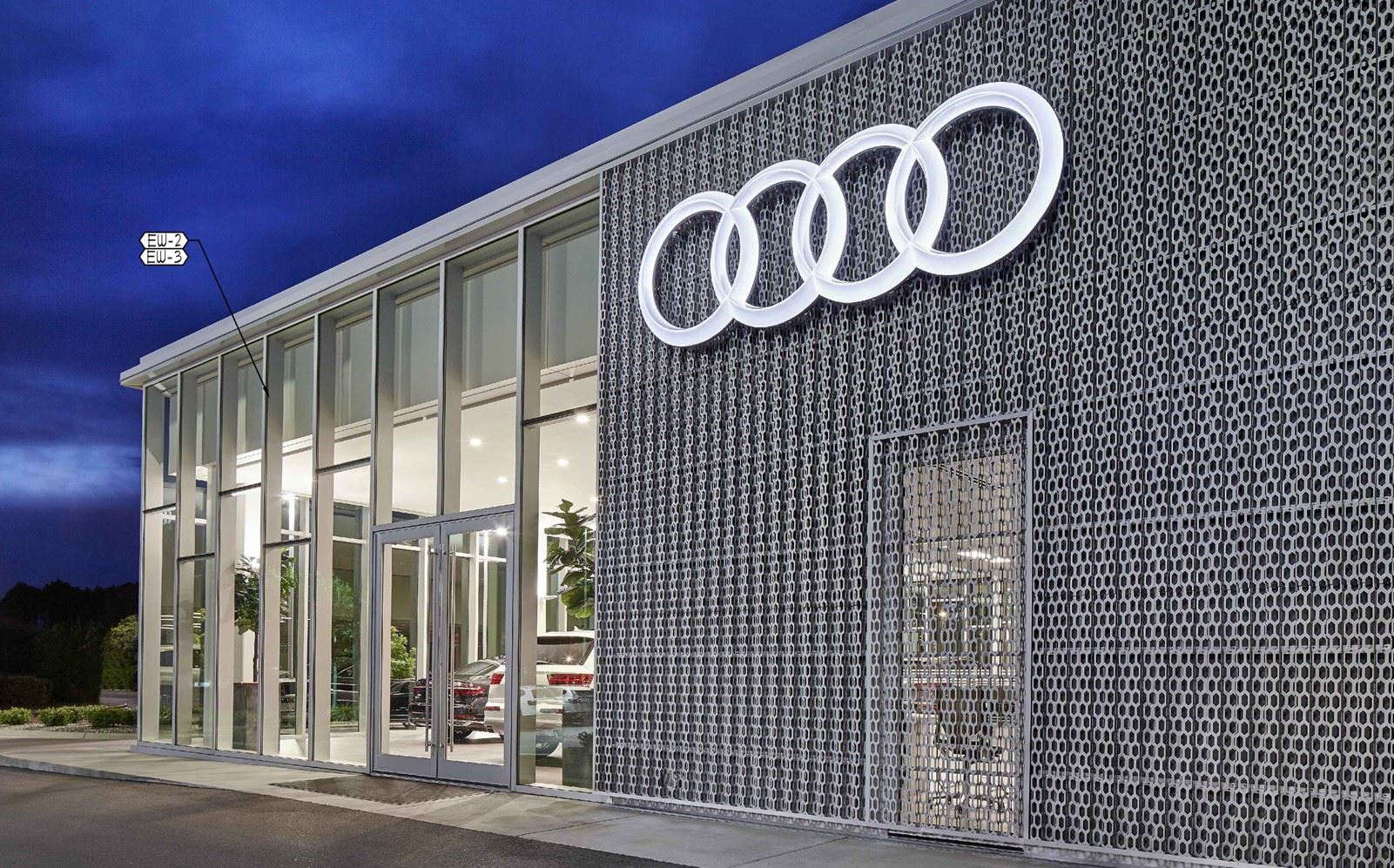 Audi Dealership Rendering
