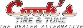 Cook's Tire and Tune Logo